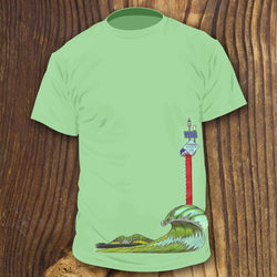 Wreck Pond Outflow Pipe Surf shirt design by RadCakes Shirts Spring Lake NJ