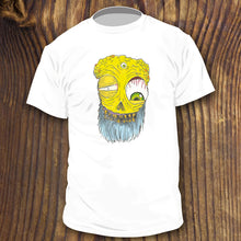 Yellow Bearded Monster with large eyeball shirt design by RadCakes NJ