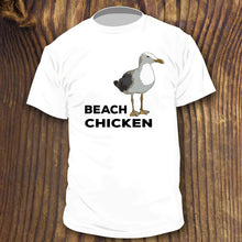 Funny Beach Chicken shirt by RadCakes Sea Gull slang term for the beach