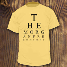 "The Morgan Freemasons ""Eye Chart"" shirt"
