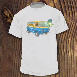 Retro 1960s Econoline Van shirt design by RadCakes New Jersey design