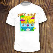 Shark River Inlet shirt design by RadCakes Belmar Avon Neptune NJ art