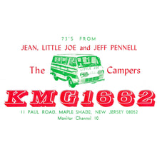The Campers QSL Card shirt