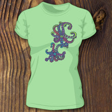 Octopus mantle shirt design by RadCakes custom shirt printing NJ