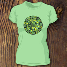 green triblend shrimp shirt by RaDCakes Sea Girt NJ