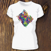 Hidden Playground women's tee - RadCakes Shirt Printing