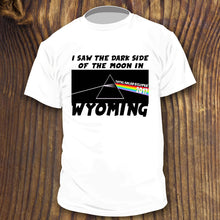 2017 wyoming total solar eclipse viewing party shirt