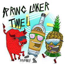 spring laker red bull vodka pineapple shirt by RadCakes sea girt new jersey
