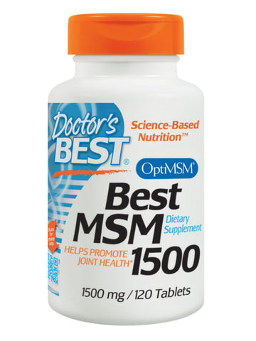 Best MSM 1500, 1500 mg, 120 ct, Doctor's Best