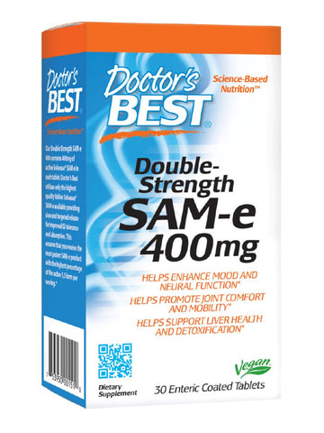 SAMe 400, Double Strength, 30 ct, Doctor's Best