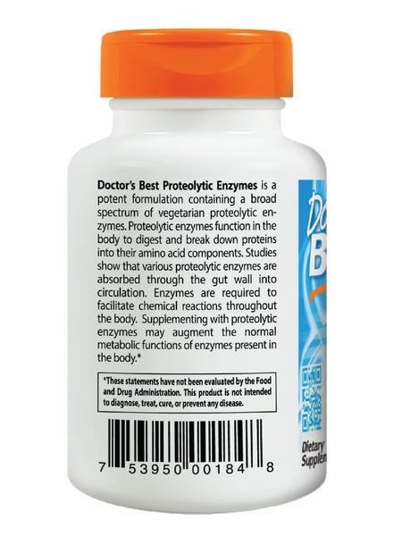 Doctor's Best, Proteolytic Enzymes, 90 veggie caps