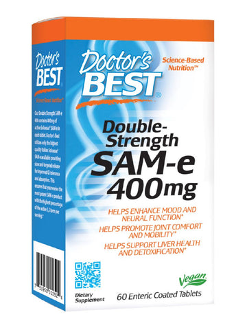 SAMe 400, Double Strength, 60 ct, Doctor's Best