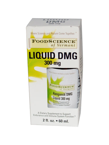 Foodscience Of Vermont, Aangamik Liquid DMG 300mg, 2 oz