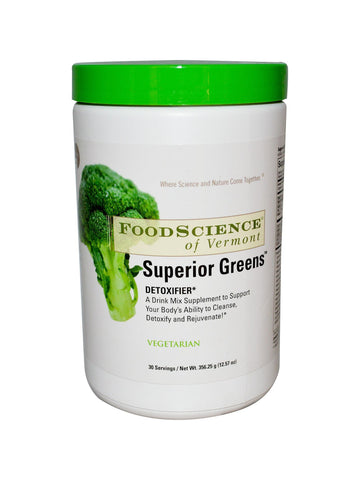 Foodscience Of Vermont, Superior Greens, 282 gm