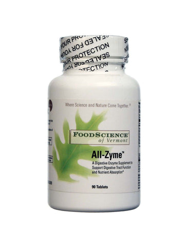 Foodscience Of Vermont, All-Zyme, 90 tabs