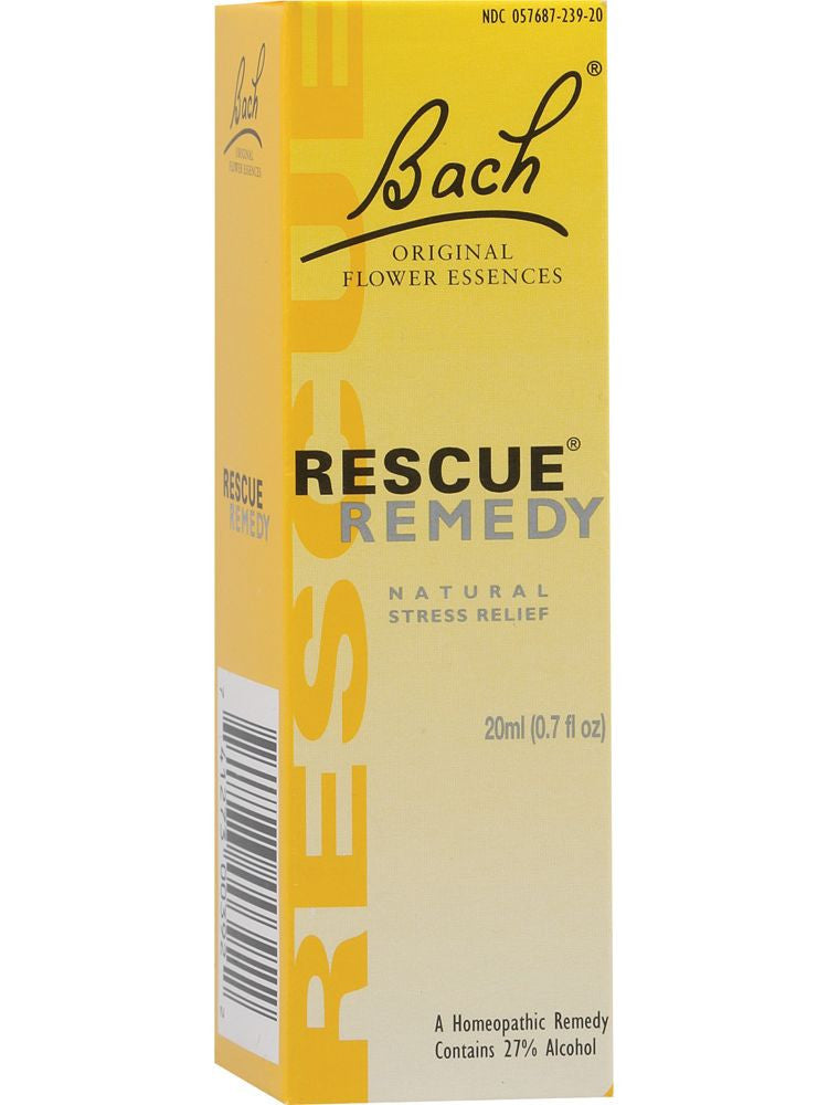 Bach Original Flower Essences, Rescue Remedy, 20ml