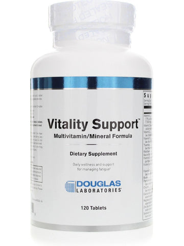 Douglas Labs, Vitality Support Formula, 120 tabs