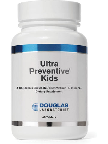 Douglas Labs, Ultra Preventive Kids, Natural Orange Flavor, 60 tabs