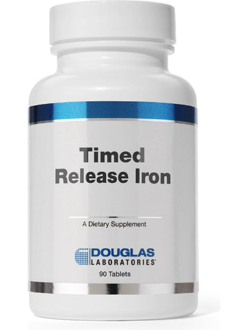 Douglas Labs, Timed Released Iron, 90 tabs