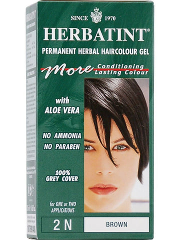 Herbatint Hair Color, Herbatint 2N, Brown