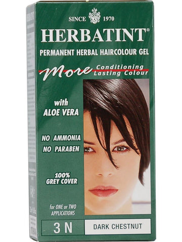 Herbatint Hair Color, Herbatint 3N, Dark Chestnut