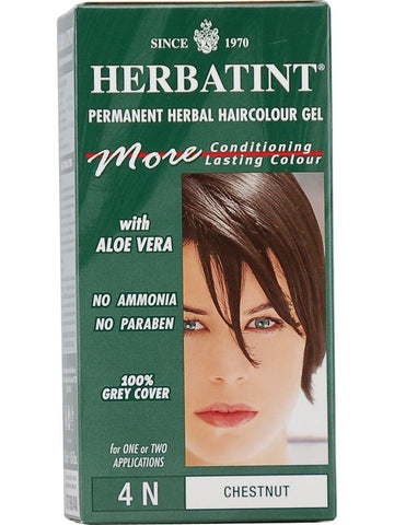 Herbatint Hair Color, Herbatint 4N, Chestnut
