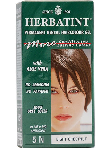 Herbatint Hair Color, Herbatint 5N, Light Chestnut
