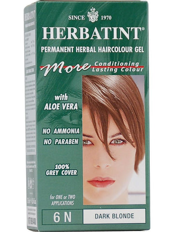 Herbatint Hair Color, Herbatint 6N, Dark Blonde