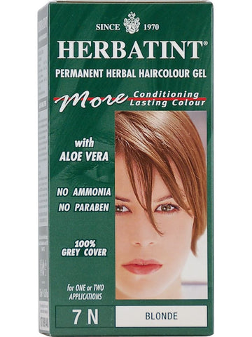 Herbatint Hair Color, Herbatint 7N, Blonde