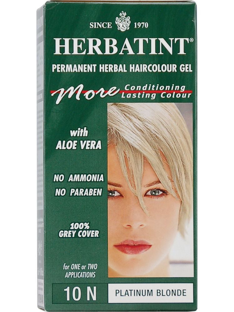Herbatint Hair Color, Herbatint 10N, Platinum Blonde