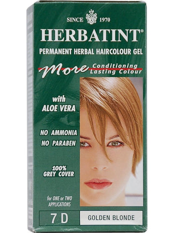 Herbatint Hair Color, Herbatint 7D, Golden Blonde