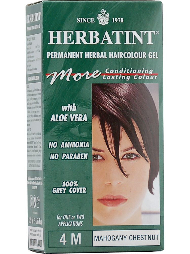 Herbatint Hair Color, Herbatint 4M, Mahogany Chestnut