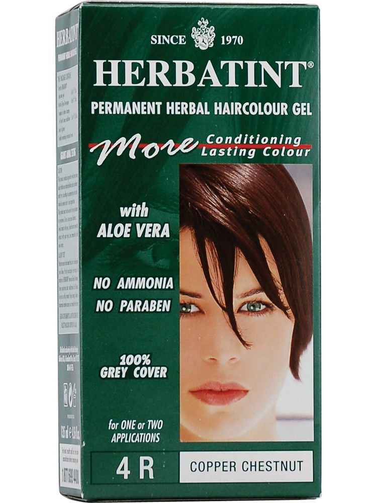 Herbatint Hair Color, Herbatint 4R, Copper Chestnut