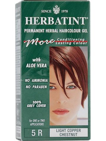 Herbatint Hair Color, Herbatint 5R, Light Copper Chestnut