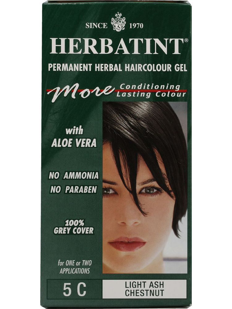Herbatint Hair Color, Herbatint 5C, Light Ash Chestnut