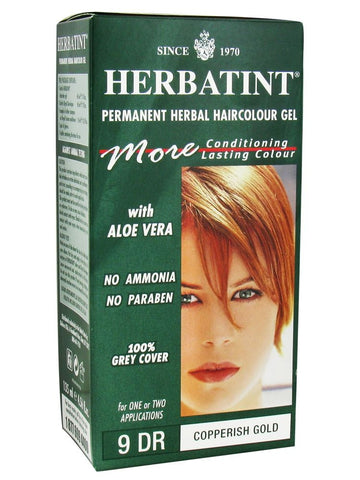 Herbatint Hair Color, Herbatint 9DR, Copperish Gold