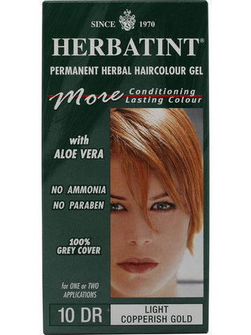 Herbatint Hair Color, Herbatint 10DR, Light Copperish Gold