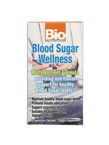 Bio Nutrition, Blood Sugar Wellness, 60 vegicaps
