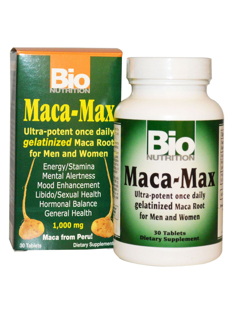 Bio Nutrition, Maca Max Once Daily, 30 tabs