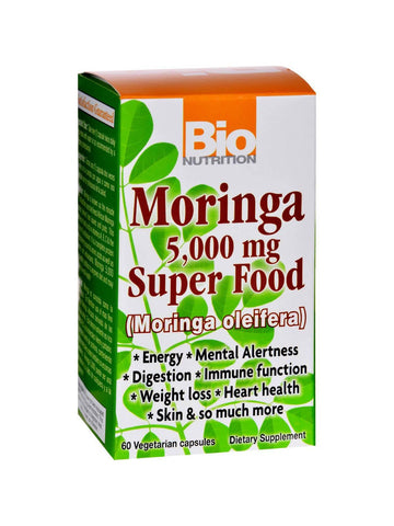 Bio Nutrition, Moringa Super Food, 60 vegicaps
