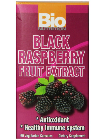 Bio Nutrition, Black Raspberry Fruit Extract, 60 vegicaps