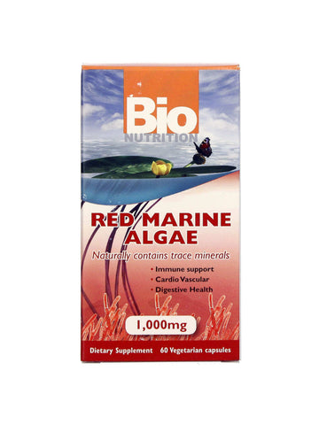 Bio Nutrition, Red Marine Algae, 60 vegicaps