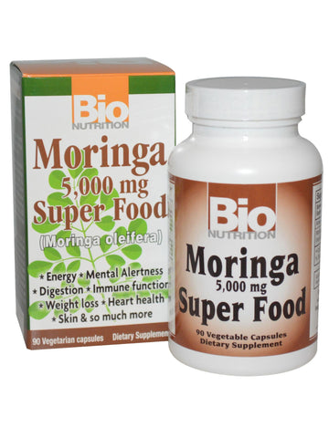 Bio Nutrition, Moringa Super Food, 90 vegicaps