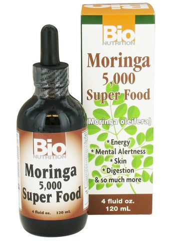 Bio Nutrition, Moringa Liquid, 4 oz
