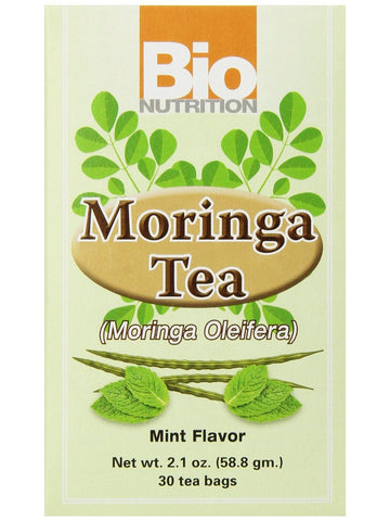 Bio Nutrition, Moringa Tea Mint, 30 bags