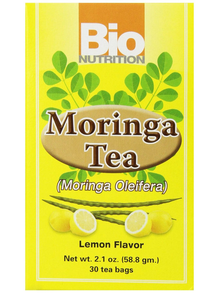 Bio Nutrition, Moringa Tea Lemon, 30 bags