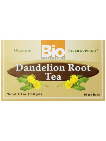 Bio Nutrition, Tea Dandelion Root, 30 bags