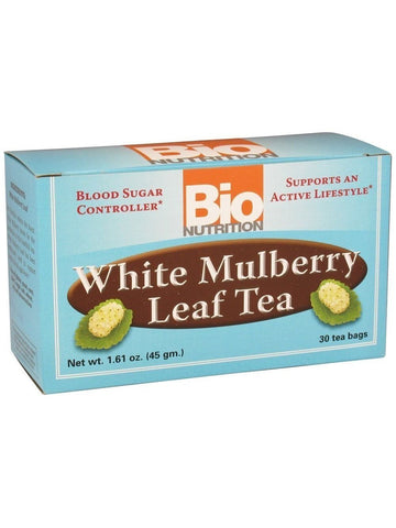 Bio Nutrition, Tea White Mulberry Leaf, 30 bags