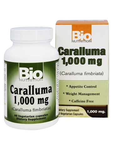 Bio Nutrition, Caralluma 1000mg, 60 vegicaps