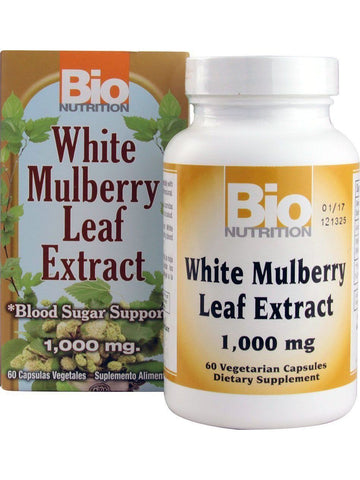 Bio Nutrition, White Mulberry Leaf Extract, 60 vegicaps